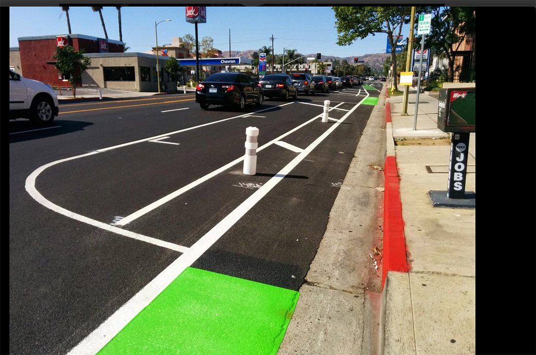 Bicycle lands will prevent accidents in San Diego
