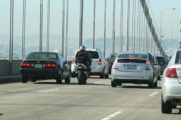 Lane Splitting Law in California